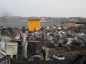 電気製品の廃棄物
