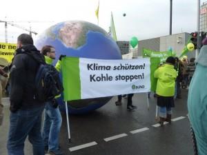 石炭をやめて気候を守れ!