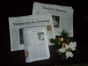 安倍首相の靖国神社参拝を伝えるドイツの新聞