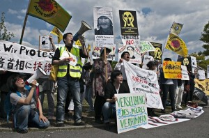 Demo vor dem Kanzleramt
