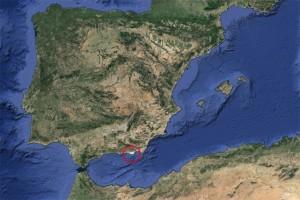 google eearth spanien rot