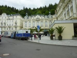 伝統的なグランドホテル・プップ